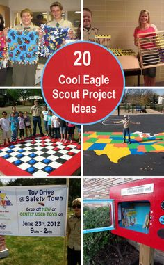Looking for ideas for a good Eagle Scout service project? Wondering what type of Eagle Scout projects that other Scouts are doing? Just share these cool Eagle Scout project ideas and tell others about your most favorite one. Boy Scout Troop, Girl Scout Swap, Girl Scout Leader, Brownie Girl Scouts, Cub Scouts, Eagle Scout Project Ideas, Girl Scout Silver Award, Personal Project Ideas, Girl Scout Activities