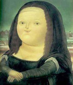 Mona Lisa 1978 by Fernando Botero