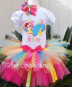 Lalaloopsy personalized Birthday tutu Set t shirt by LilMsCutie