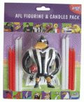 Collingwood Magpies Mascot and Candles Pack