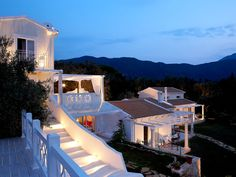 Villa Castello Di Vista Luxurious Corfu, Luxury Villa, Mansions, House Styles, Home Decor, Luxury Condo, Decoration Home, Room Decor, Villas