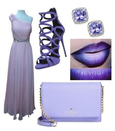 """its going to be a lavenderitious day"" by mickey-pineda on Polyvore featuring Impression Bridal, GUESS, Kate Spade and Giuseppe Zanotti"