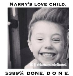 Okay so I like Narry strictly and only as a bromance but for real this kid could be of the two