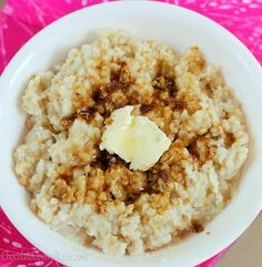 Overnight Crockpot Steel Cut Oats. I make this All. The. Time... as in, weekly. It is cheap, simple, delicious and nutritious. I use a water bath method in my crock pot so that the oats don't dry out around the edges.