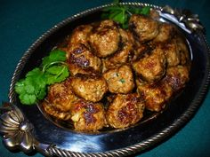 Years ago I had an Italian neighbor who became a close friend. I always commented on her delicious meatballs and one day she shared the recipe with me. You can vary the meats using what's on hand, but I usua Sausage Meatballs, Tasty Meatballs, Turkey Sausage, Italian Recipes, New Recipes, Cooking Recipes, Recipies, Favorite Recipes, Authentic Italian Meatballs