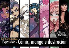 Del 11 al 26 de Mayo en el Museo Municipal de Arucas podrán ver una exposición con obras de @rits.design @letstark @franz_valentine_art @limoneti_ @begutirod_art  y #sfr_art. La inauguración será el 11 a las 19:30 y podrás vernos dibujar en directo el 18 de mayo de 10 a 12:00 y de 17:00 a 19:30. Te esperamos!! #illustration #comic #sfrpin #artist #digitaldrawing #photoshop #canaryislands