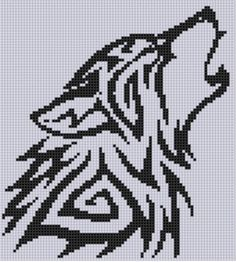 Cross Stitch Design Looking for your next project? You're going to love Wolf Cross Stitch Pattern by designer Motherbeedesigns. Cross Stitching, Cross Stitch Embroidery, Embroidery Patterns, Cross Stitch Heart, Cross Stitch Animals, Celtic Cross Stitch, Cross Stitch Designs, Cross Stitch Patterns, Beaded Cross