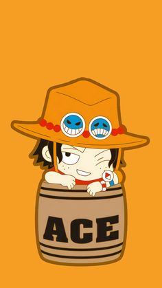 Ace in a Barrel One Piece Wallpaper Iphone, Cute Anime Wallpaper, One Piece Comic, One Piece Ace, One Piece Images, One Piece Pictures, Walpaper One Piece, Portgas Ace, One Piece Seasons