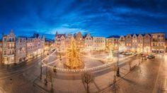 fot. Mariusz Nasieniewski #citysquare #christmastree #lights