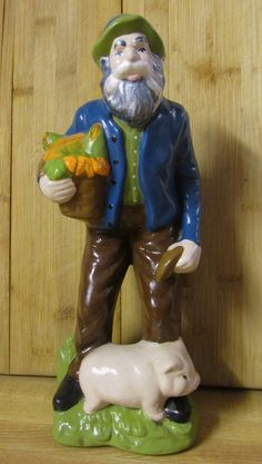 The male companion piece to the female Hummel like figurine