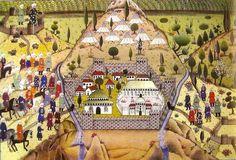 Bursa'nın fethi minyatürü 1326.