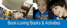 10 book-themed children's books plus 10 fun book activities for kids!