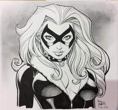 Black Cat Commission 2018 - Arthur Adams