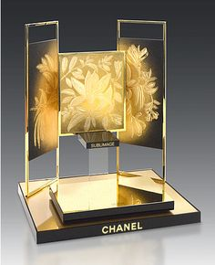 Comptoir Soins Sublimage Chanel 2016 POPAI AWARDS acrylic display