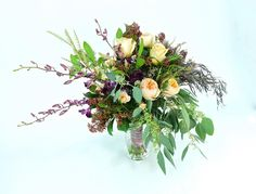 Winter wedding bouquet made special for Hillary @grace_and_sunshine. beautiful winters day,Love who you love