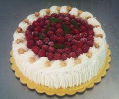 Crear para Endulzar: Raspberries and Cream Cake