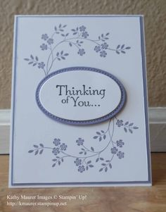 Image result for cards made with lots of lavender stampin up