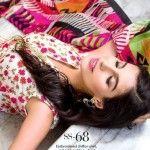 Gul Ahmed Trencia Satin Silk Festive Eid Collection 2015