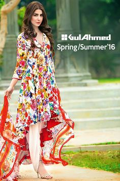 Bamboo Silk Collection Gul Ahmed Dresses 2016