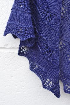 Shaelyn lace knitting shawl - for Pat