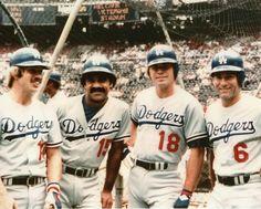 The Summer of 1973 - First baseman Steve Garvey, second baseman Davey Lopes, third baseman Ron Cey and shortstop Bill Russell.