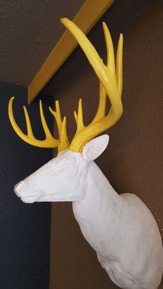 Deco cerf Chamonix, Refuge, Mont Blanc, Deer