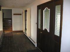 Foyer with Slate Flooring