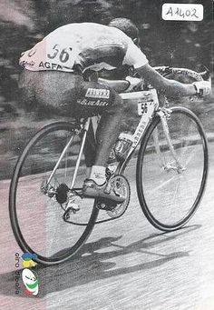 Marco Pantani (unlike some pure climbers) could also fly on the downhill side.