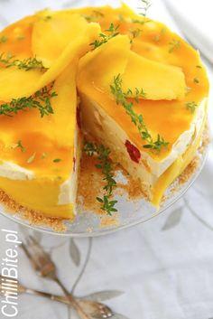 ChilliBite: Sernik jogurtowy z mango