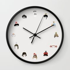 Buy Miyazaki 's World Wall Clock by Jarvis Glasses. Worldwide shipping available at Society6.com. Just one of millions of high quality products available.