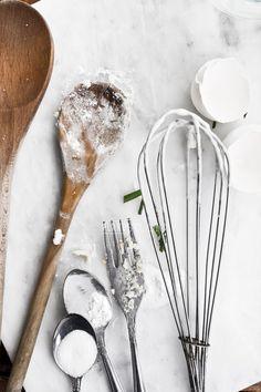 cooking utensils & ingredients