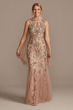 Mother Of The Bride Dresses Long, Mother Of Bride Outfits, Mothers Dresses, Grooms Mother Dresses, Grooms Mom Dress, Mob Dresses, Necklines For Dresses, Event Dresses, Bridesmaid Dresses