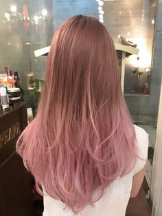 Kawaii Hairstyles, Ombre Hair, Hair Inspiration, My Hair, Asian Girl, Zero, Hair Color, Make Up, Long Hair Styles