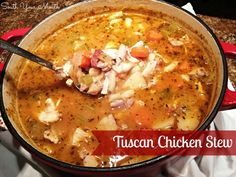 South Your Mouth: Tuscan Chicken Stew
