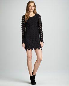 Free People Wild Thing Crochet Dress: My 2013 NYE dress