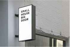 Small house, big door