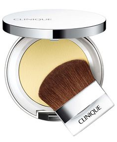 Clinique Redness Solutions Instant Relief Mineral Pressed Powder Lightly swatched a couple times