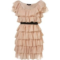 Tiered Ruffle Dress by Rare** - MARJORIE