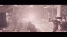 Cap vs Tony (AoU) gif