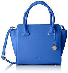 L.Credi Marbella 309-7801 Damen Henkeltaschen 33x23x14 cm (B x H x T), Blau (blau) - http://on-line-kaufen.de/l-credi/blau-blau-l-credi-marbella-309-7801-damen-33x23x14