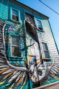 Mission District in San Francisco: street art galore!