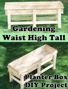 "Gardening Waist High Tall Planter Box DIY Project Homesteading - The Homestead Survival .Com ""Please Gardening Waist High Tall Planter Box DIY Project Homesteading - The Homestead Survival .Com ""Please Share This Pin"" Tall Planter Boxes, Tall Planters, Diy Planter Box, Diy Planters, Planter Pots, Vegetable Planter Boxes, Outdoor Planter Boxes, Balcony Planters, Wooden Planters"