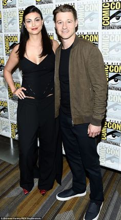 Wed: Morena Baccarin and Ben McKenzie have said 'I do', 14 months after welcoming daughter Frances. They tied the knot in a ceremonyin Brooklyn on Friday