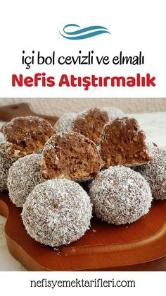 Snack with Plenty of Walnuts and Apples - Yummy Recipes - Dessert Recipes Healthy Foods To Eat, Healthy Recipes, Delicious Recipes, Yummy Snacks, Yummy Food, Peach Cake, Blueberry Crumble, Food Platters, Turkish Recipes