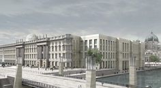 KLEIHUES + KLEIHUES,JAN KLEIHUES  Reconstruction of the Berlin Royal Castle – Humboldt-Forum