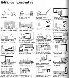 Vocabulario de formas arquitectónicas: diseñar junto a Edificios Existentes : ESCALA:TOTAL