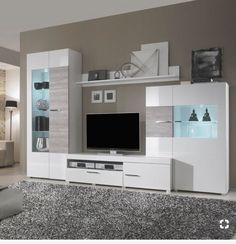 Горки how to decorate a bathroom - Bathroom Decoration Modern Tv Room, Modern Tv Wall Units, Tv Cabinet Design, Tv Wall Design, Tv Unit Furniture, Home Decor Furniture, Tv Wanddekor, Living Room Built Ins, Living Room Tv Unit Designs