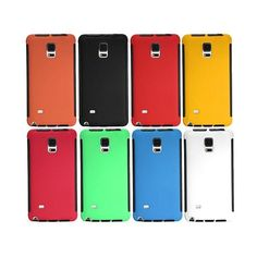 PC+PET+TPU Anti-Dust/Shock/Scratch Case For Samsung Galaxy Note 4