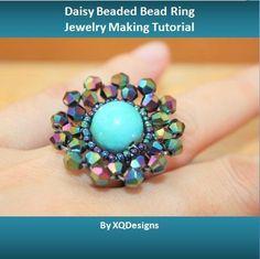 Beaded Rings - Bead Weaving Patterns