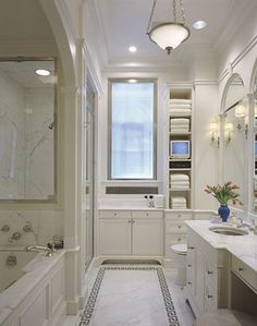 1000 Images About White Bathrooms On Pinterest White